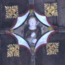 Photo:One of the chancel 18th century roof bosses